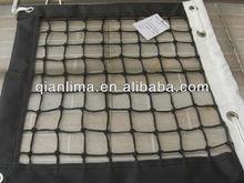 3mm PE weaving tennis net, double net