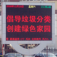 Hot sale!!! CE approved information message led display module p10