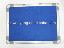 best sale aluminum fabric board pen tray for school