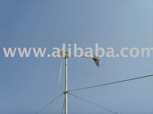 small wind turbine generator 1000W with 3 silent carbon fiber blades(USD600 only)