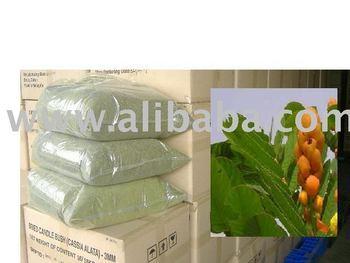 Dehydrated Candle Bush (Cassia Alata) Herb