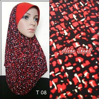 Tudung Ala Ariani Printed Thai Silk scarves