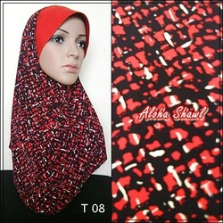 Tudung Ala Ariani Printed Thai Silk scarves