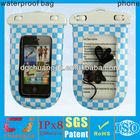 Large resealable waterproof plastic bags fit smart phone