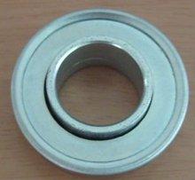 Pressed bearings for garage doors
