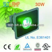 CE UL cUL E361401 30w green flood lights IP65