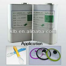adhesive for cured silicone silicon glue adhesives FDA silicone spray coating