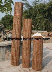 Bark Fencing, Natural Fur Tree Bark Fence, Bark Fences, Rolled Bark Fence