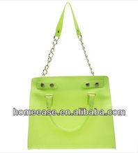 Transparent Color PVC Shoulder Bag Hand Bag