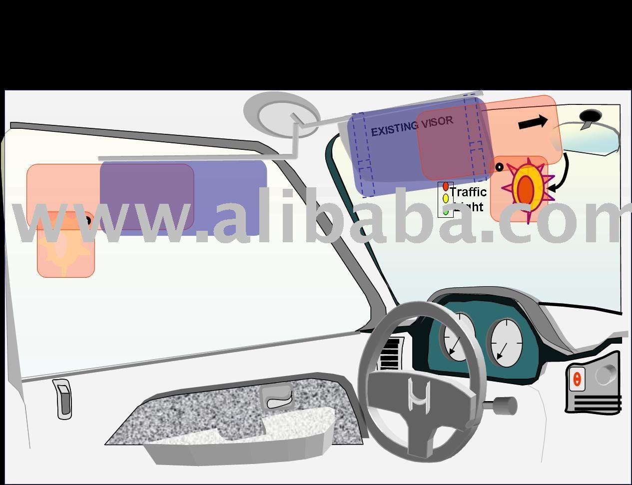 Add-on Sun Visor for Cars