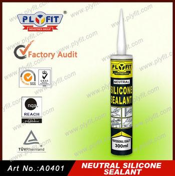 Neutral silicone sealant