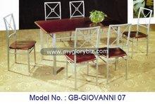 Dining Set, Metal Home Furniture, Metal Dining Furniture