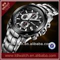 w2174 japón movt reloj deportivo deporte todo de acero inoxidable reloj