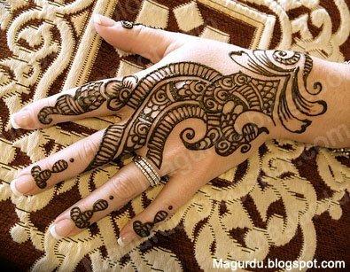 See larger image Henna Mehndi nail hanna hand mehndi Chandni