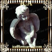 ICA,Stone angel statue RCH0078