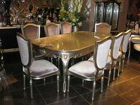 classical oak solid wood russian table setting DXY-JG-060-O#