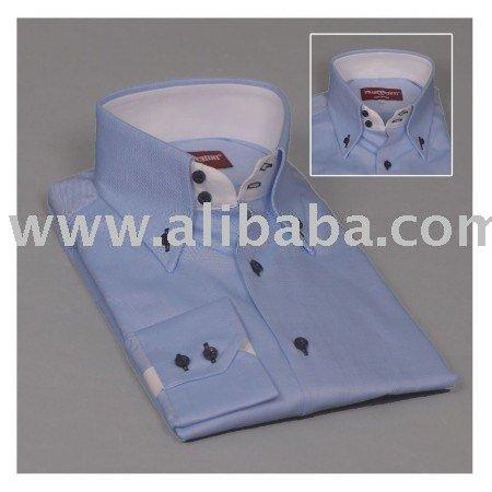 Mens Italian Shirts Italian High Collar Men