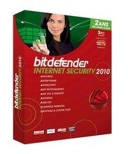 Bitdefender Internet Security 2010 3 PCs 1 Year software