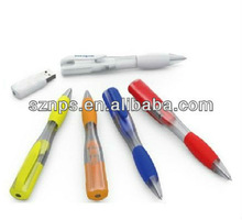 Plastic ballpen USB Flash Memory with USB 2.0