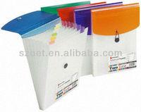 Plastic PP A4/A5 Expanding A4 Portrait folder/case/bag with/without handle