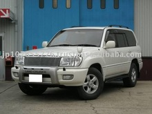 1998 Buying Used Cars TOYOTA Land Cruiser 100 VX Limited G Selection Lether Seats Navi/SUV/RHD/86000km/Gas/Petrol/White/