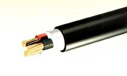Fire retardant cable used outdoors