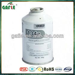 12oz(340g) car gas r134a refrigerant with 99,99% purity