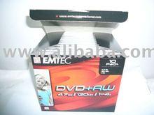 Emtec blank DVD+RW 4X