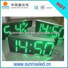 china market wholesale new products led digital clock wall mounted