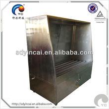 Plate washing machine for screen printing aluminum frame