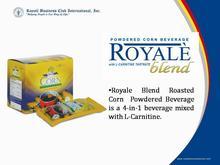 Royale powdered corn beverage