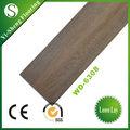 Fábrica caliente de venta de madera a prueba de agua sueltas de pvc laicos auto-adhesivo de vinilo piso embaldosado
