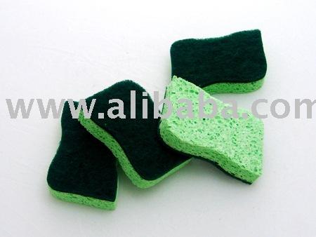 cartoon car wash sponge. cellulose sponge,cleaning