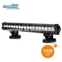 12v car bar led waterproof led light bar tractor lighting system SM6014-54