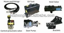 Hydraulic Tipping System for Dump Truck Hydraulic Ram Kit Hydraulic Power Unit