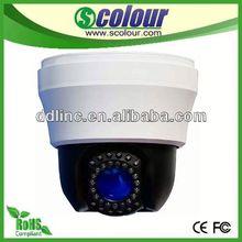 Hot Sale Intelligent Indoor Mini cctv information with 30pcs IR LEDs