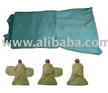 2-in-1 Micro-Fleece Sleep bag/Swaddle
