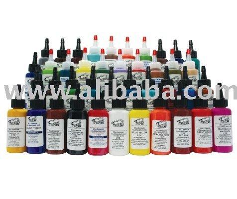 See larger image: Millennium Ink MOM's Bottle Complete Tattoo Ink Set/Kit