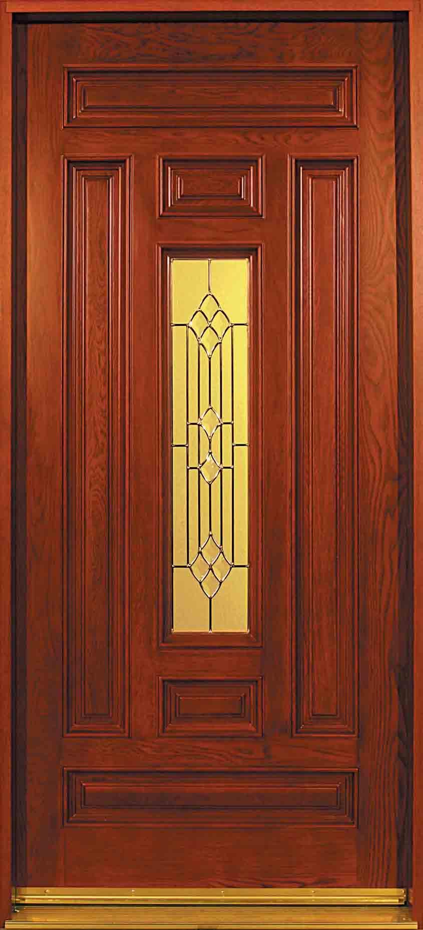 Oak doors solid oak entry door for Solid wood entry doors