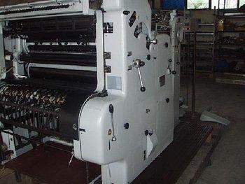 ROLAND Parva RP II offset one colour machine