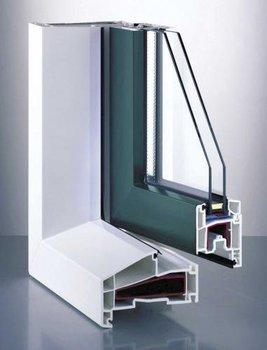 Fenster pvc windows, Gealan profile