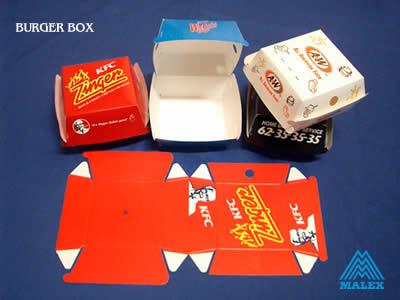 Fast Food Burger Box