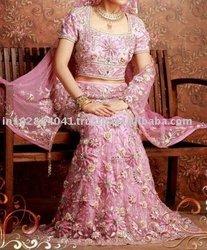 Designer Embroidered Bridal Lehenga/Lengha ~ Wedding Lehengas Choli ~ Bollywood Ghagra