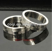 2014 China cheapest Fashion ring high polish stainless steel ring Jewelry gift for branded gifts