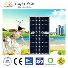 solar roof tile in 160W mono solar panels