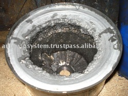 Sludge Collected - Aluminum Wire Drawing oil cleaner