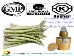 organic dried plants asparagus Rhizome root Extract polysaccharide Powder price
