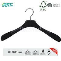 QTX8011AZ Delure Black suit hanger stand