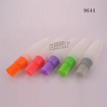 high temperature silicone/silicone oil brush/Colorful Silicone Egg Brush #9644