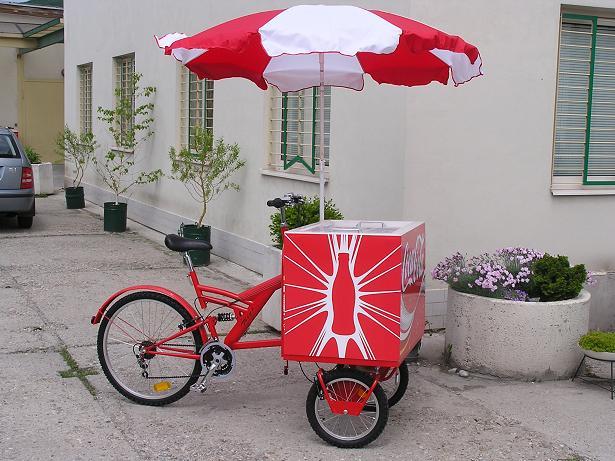Vending carts, ice cream Tricycles